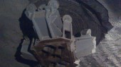 Cabeza perforadora de 3 m y 60 cm dentro del tunel